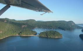 The Gulf Islands: Kayak Outing with Seaplane Experience