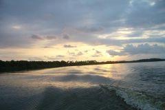 Scenic viagem Coyuca Dia Lagoa