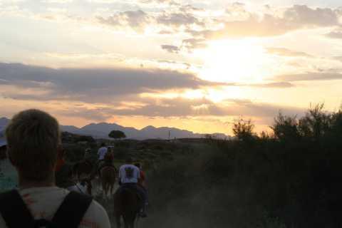 Wild West Sunset BBQ Dinner Horseback Ride