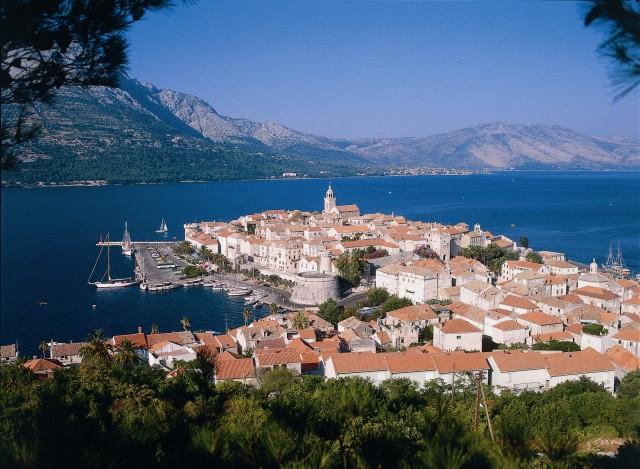 Eiland Korcula Dag Tour van Dubrovnik