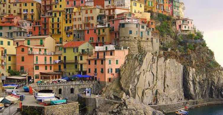 Excursão de 1 Dia a Cinque Terre partindo de Milão