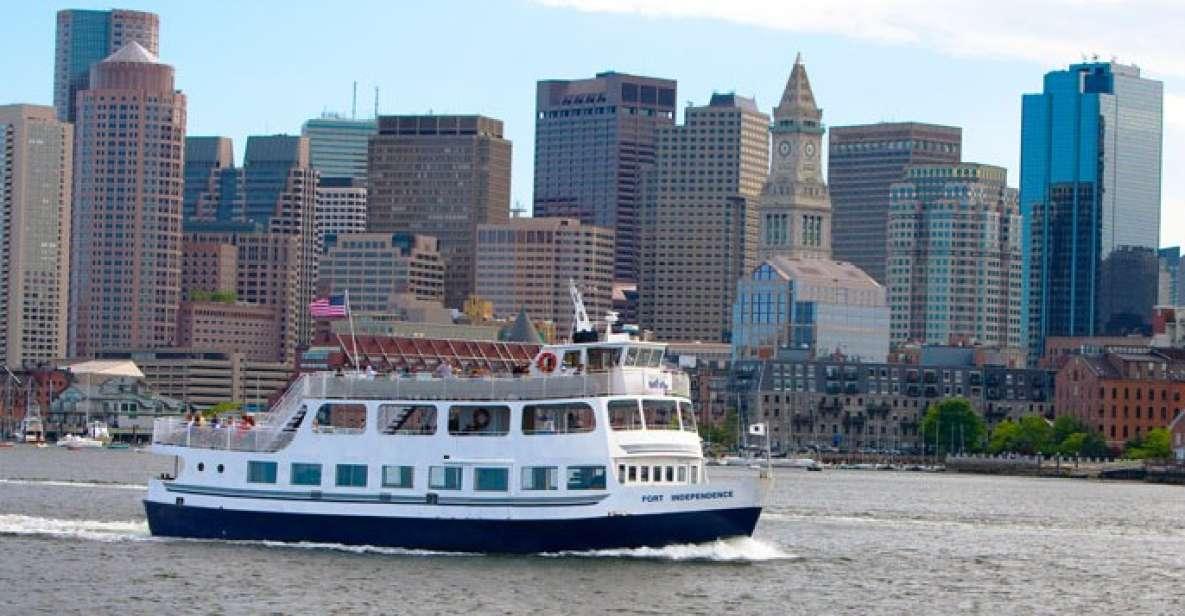 Boston 90-Minute Historical Sightseeing Cruise