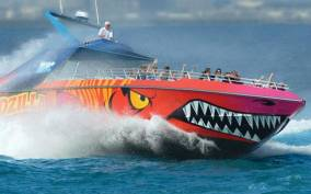 Boston Harbor Codzilla High Speed Thrill Boat