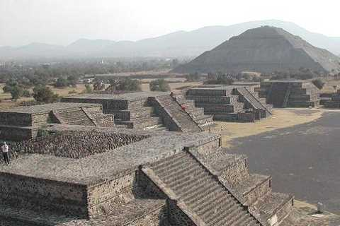 From Mexico City: Guadalupe Shrine and Teotihuacan Pyramids