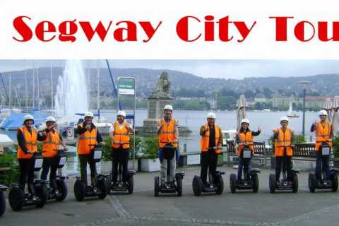Zurich: Public City Segway Tour