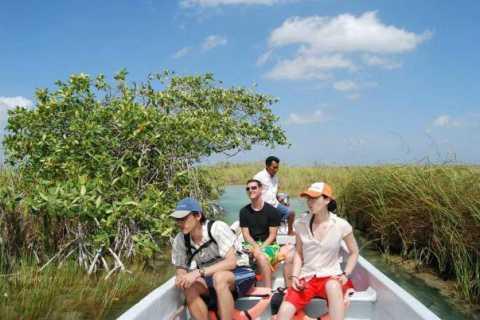 Excursão de dia inteiro pela Riviera Maya Sian Ka'an Bisophere Reserve