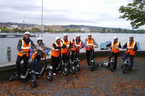 Zurich: 2-Hour City E-Scooter Tour