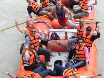 Jasper-Nationalpark: 2,5-stündige, leichte Rafting-Tour