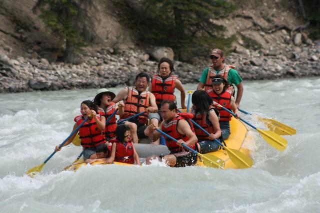 Jasper National Park: 2-Hour Whitewater Rafting