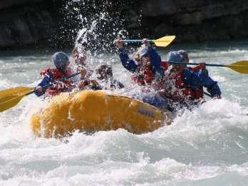 Athabasca Falls: Klasse 2 White Water Rafting-Abenteuer