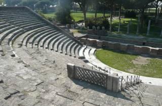 Ab Rom: Halbtägige Tour mit dem Zug nach Ostia Antica