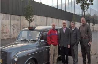 Belfast Taxi: Private Taxifahrt zu Wandmalereien
