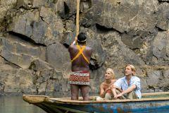 Excursão guiada pela vila indiana de Embera