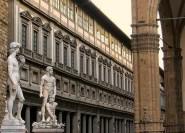 Florenz: Private Tour mit Accademia und Uffizien
