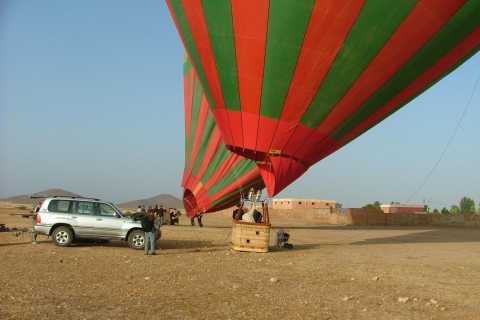 Marrakech: Private Hot Air Balloon Flight with Breakfast