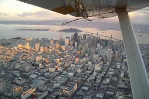 Champagne Flight: San Francisco Seaplane
