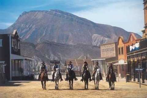 Full-Day Western Theme Park Tour of Mini Hollywood (Oasys)