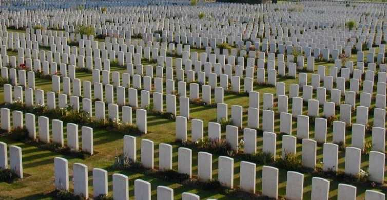 Great War Flanders Fields Minibus Tour from Bruges