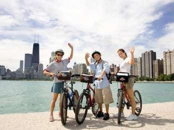 Bike and Roll Chicago: Halbtägige Fahrradleihe