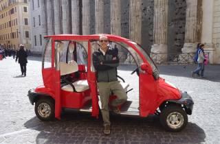 Rom: Tour im Elektroauto