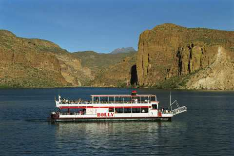 From Phoenix: Apache Trail & Dolly Steamboat Day Trip