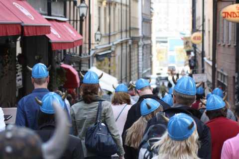 Tour privado a pie de vikingo por Estocolmo (90 min)