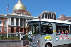 Boston: Bilhete de 1 Dia para o Bonde Hop-On Hop-Off