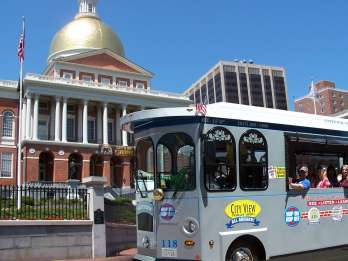 Boston: Hop-On/Hop-Off-Trolley - 1-Tages-Ticket