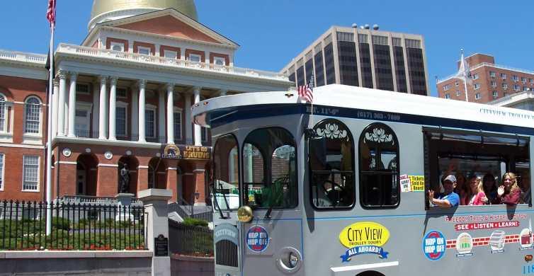Boston: ticket de 1 día para el tranvía turístico