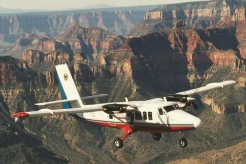 Ab Las Vegas: Grand-Canyon-Tour per Flugzeug und Bus