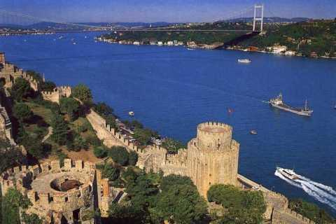 Bosphorus Boat Cruise & Two Continents Tour with Lunch