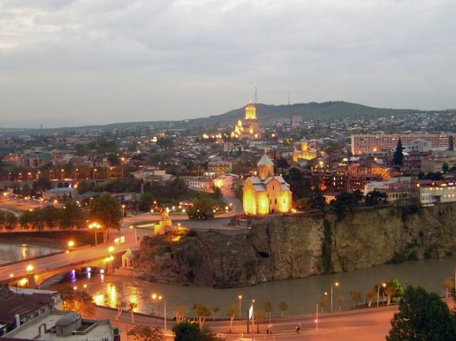 Hoogtepunten halve dag wandeltocht in Tbilisi