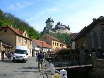 Ab Prag: Private Tour Burg Karlstejn & Kristallmanufaktur