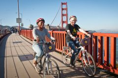 San Francisco auto-guiada Bike Tour