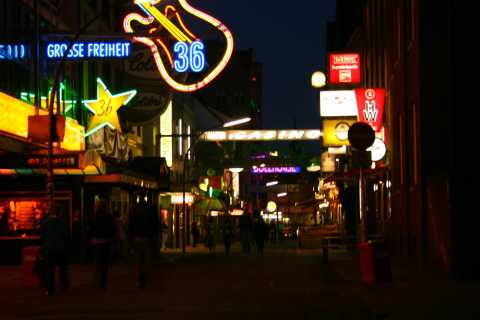Hamburg St Pauli: Red Light District Walking Tour