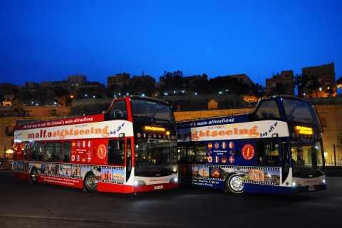 Malta: tour serale su bus scoperto con sosta a Mdina