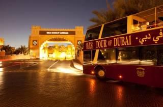Dubai: Nächtliche Big-Bus-Sightseeing-Tour