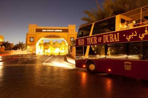 Big Bus Night Tour - Dubai Panoramic Sightseeing Tour
