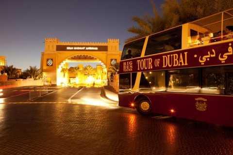 Big Bus-aftentur: Panorama-sightseeingtur i Dubai