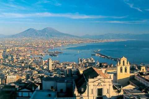 Tour a pie y en autobús por Nápoles y el golfo de Nápoles