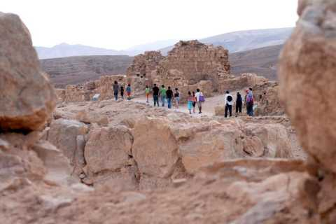 Excursão em Massada e Mar Morto de Netanya, Herzliya e Tel Aviv