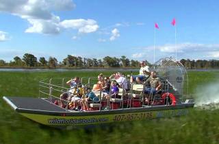 Orlando: Wild Florida Everglades Airboat & Wildpark