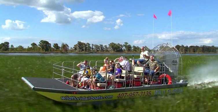 Orlando: Aerobarco em Everglades e Wildlife Park
