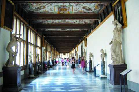 Florence : coupe-file et visite de la galerie des Offices