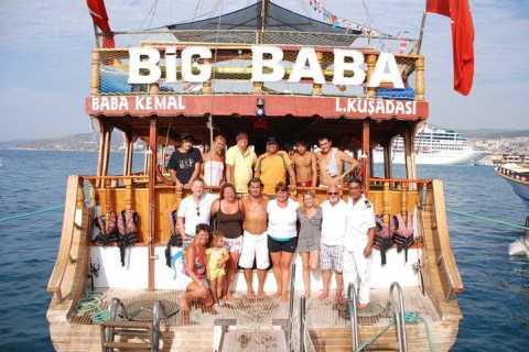 Kuşadası: Tagesausflug per Boot mit köstlichem Barbecue