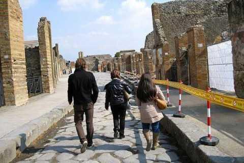 Pompeii & Amalfi Coast Full-Day Private Tour from Rome