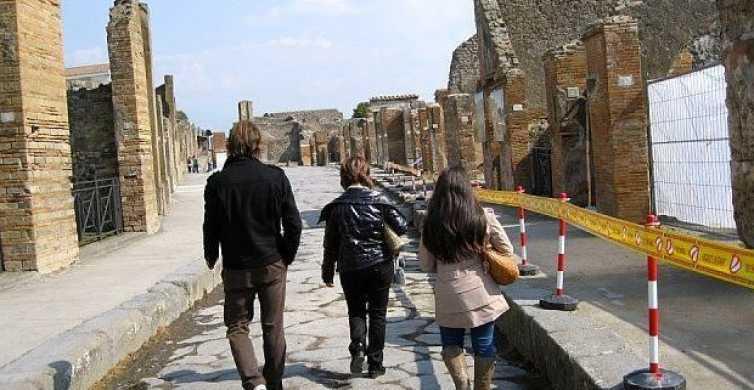 Pompei e Costa amalfitana: tour privato di un giorno da Roma