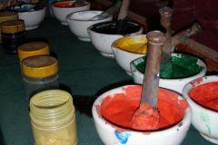 Oficina de Pintura Bhaktapur Thanka