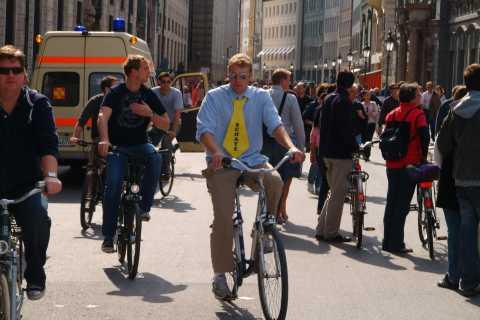 ミュンヘン:3時間 自転車 ガイド ツアー
