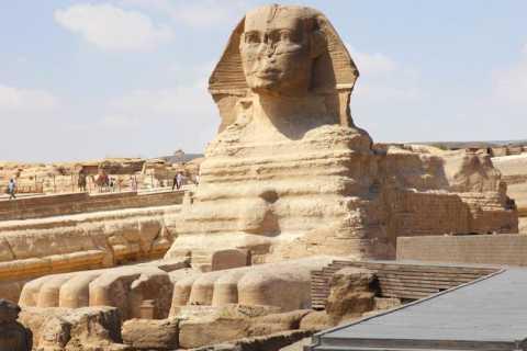 Vanuit Sharm El Sheikh: daguitstap Cairo per vliegtuig